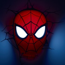 Spider Man Mask - 3D Deco Light