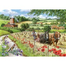 Windmill Lane Big 500 piece quality puzzle designed by House Of Puzzles
