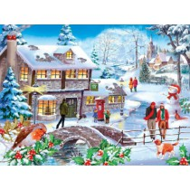 Winter Walk - 500 piece quality puzzle designed by House Of Puzzles