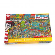 Where's Wally Wild Wild West 1000 piece puzzle