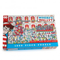 Where's Wally Having a Ball in Gaye Paree - 1000 piece puzzle