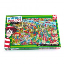 Where's Wally - Jurassic Games 100 piece Puzzle