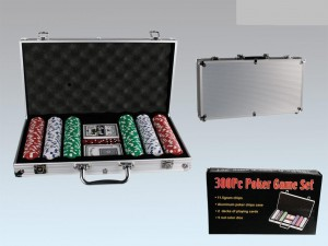 300 Piece Poker Set